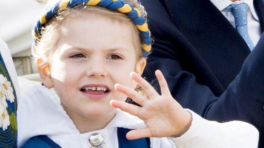 Prinzessin Estelle bei den Feierlichkeiten zum schwedischen Nationalfeiertag in Stockholm