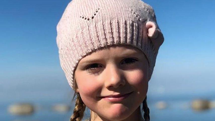 Im Skiurlaub: Prinzessin Estelle hat sich ein Bein gebrochen