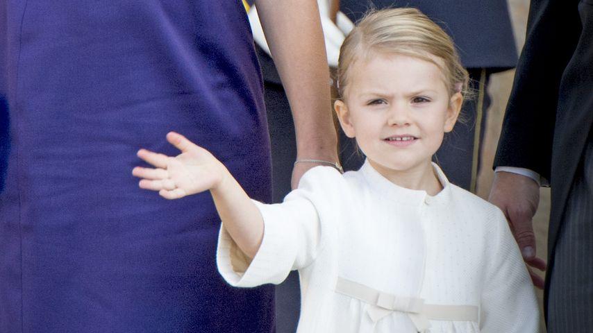 Trotz Babybauch: Prinzessin Estelle stiehlt Mama die Show