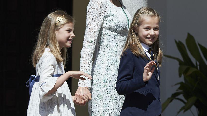 Prinzessin Letizia, Prinzessin Leonor von Spanien und Prinzessin Sofía von Spanien
