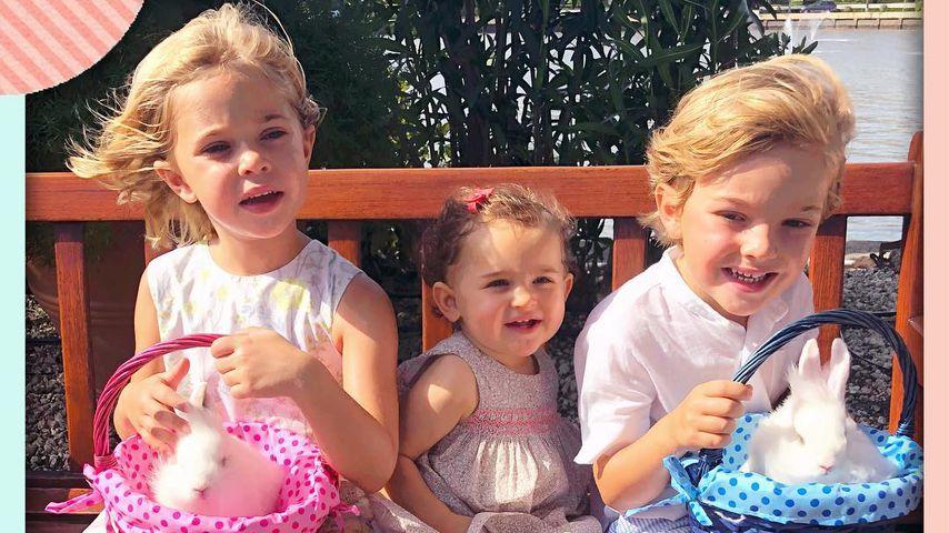 Prinzessin Leonore, Prinzessin Adrienne und Prinz Nicolas von Schweden