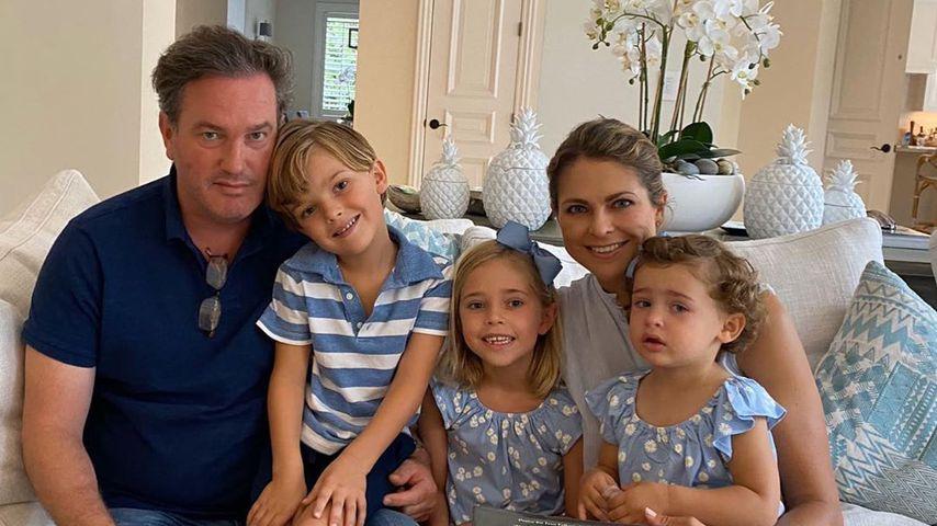 Prinzessin Madeleine postet ein süßes Familienbild zu Ostern
