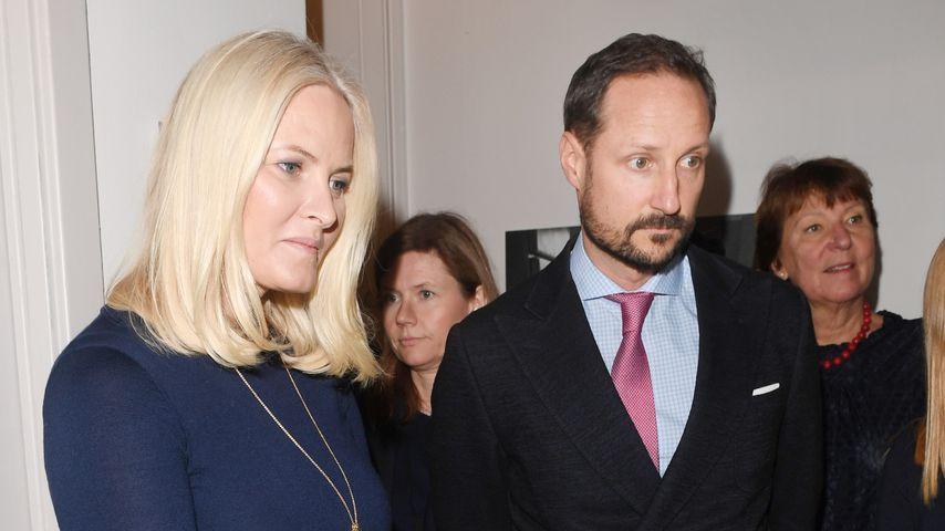 Prinzessin Mette-Marit und Prinz Haakon in Oslo, 2018