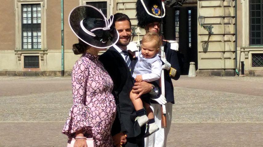 8. Monat! Prinzessin Sofia megaschwanger auf Victorias B-Day