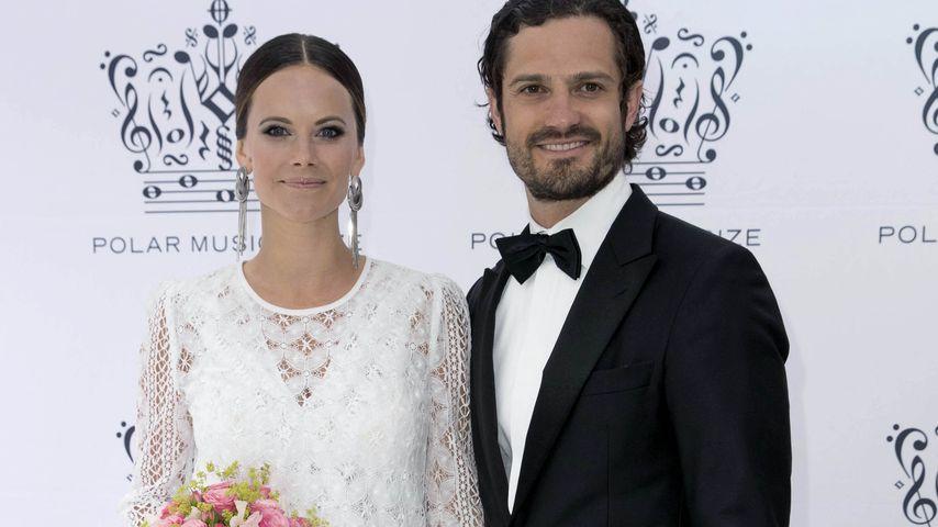 Ist Sofia sauer? Prinz Carl Philip trifft auf seine Ex!