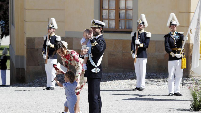 Prinzessin Sofia, Prinz Alexander, Prinz Gabriel und Prinz Carl Philip von Schweden