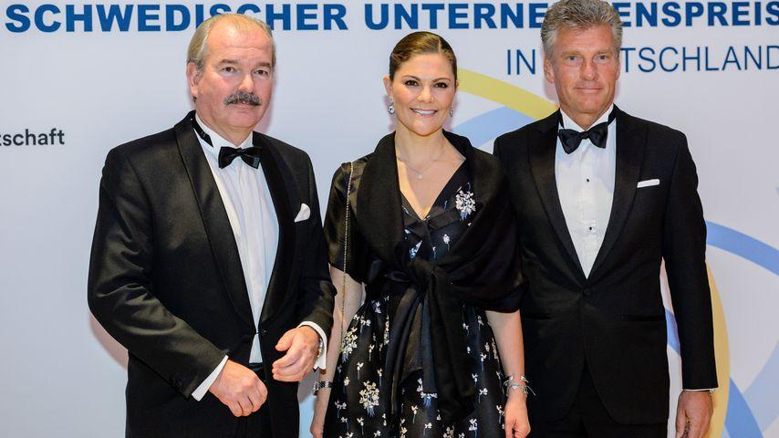 Prinzessin Victoria von Schweden auf dem schwedischen Unternehmenspreis in Leipzig 2017