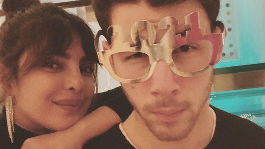 Priyanka Chopra und Nick Jonas, Dezember 2020