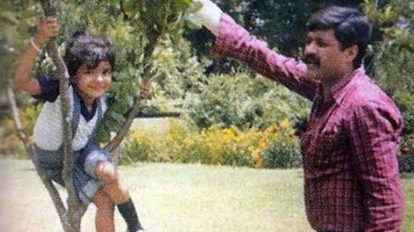 Priyanka Chopra und ihr Vater Ashok