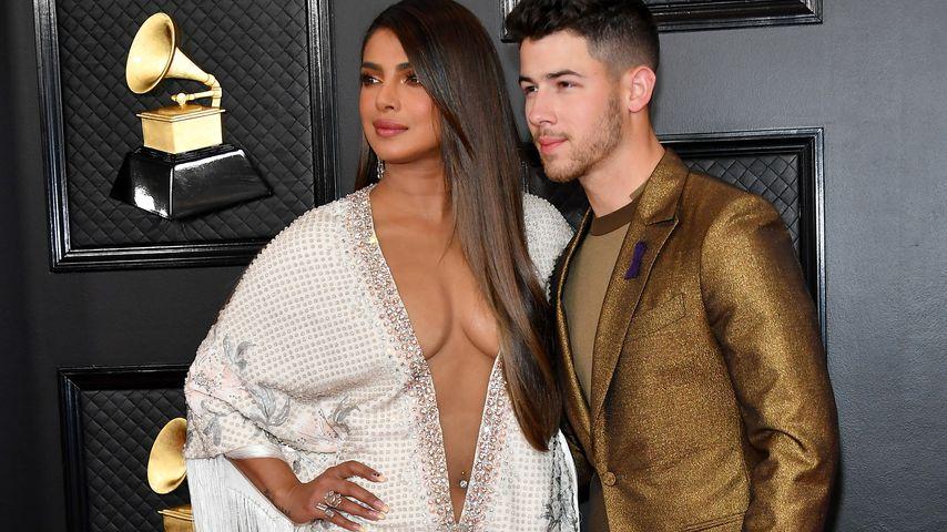 Priyanka Chopra und Nick Jonas bei den Grammys 2020