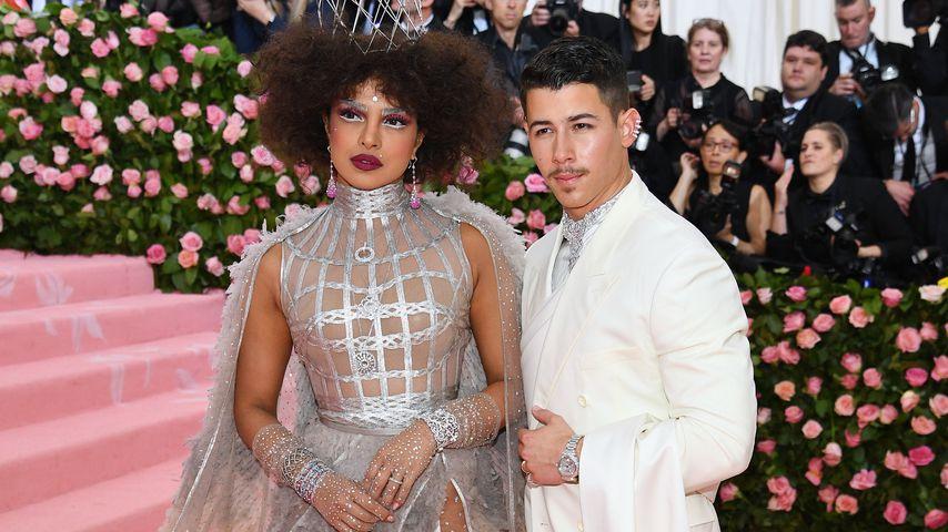 Priyanka Chopra und Nick Jonas bei der Met Gala