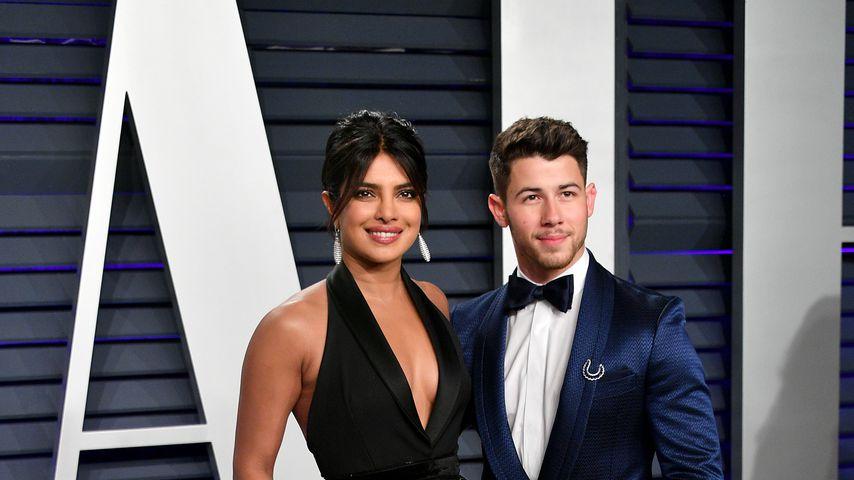 Schauspielerin Priyanka Chopra und ihr Mann Nick Jonas, 2019