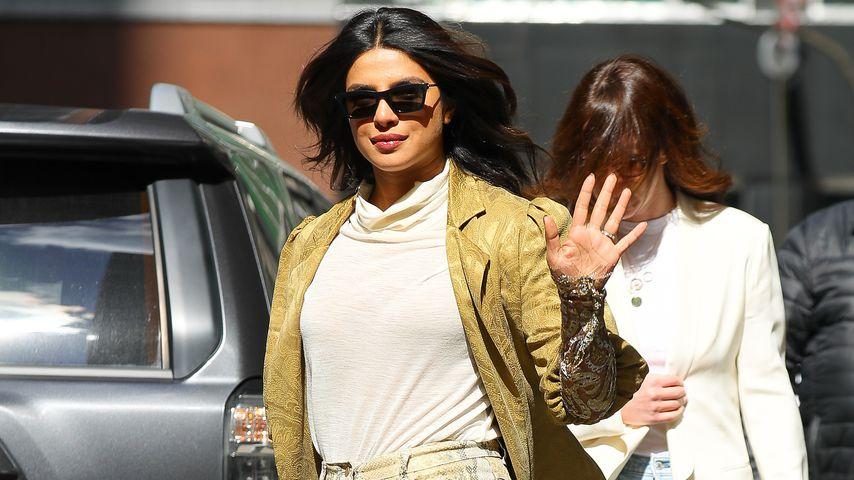 Priyanka Chopra verzaubert mit drei Looks an nur einem Tag!