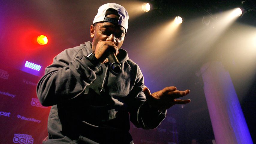 """Prodigy beim """"Rock the Bell""""-Festival in New York, 2012"""