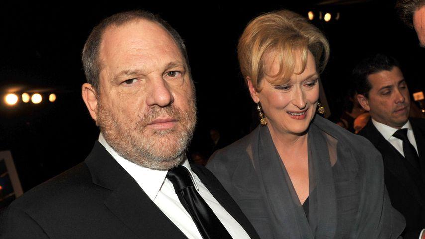Produzent Harvey Weinstein und Schauspielerin Meryl Streep in Los Angeles