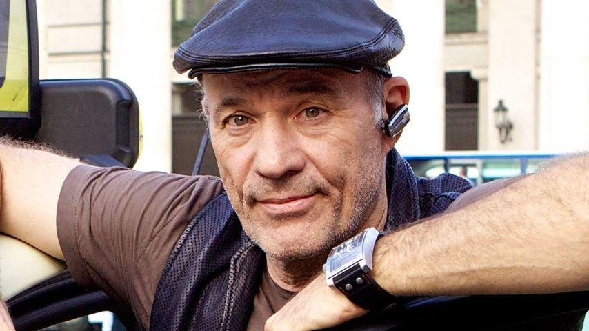 Heiner Lauterbach fährt mit Flachmann Taxi