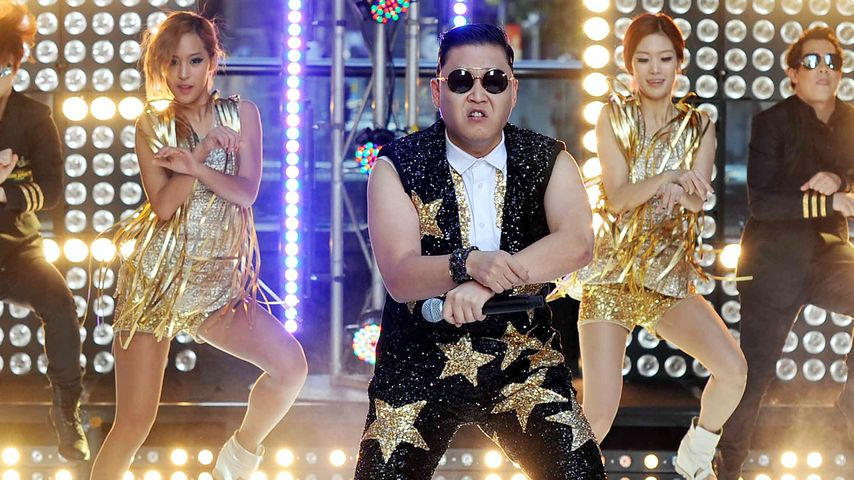 EMA 2012: Psy wird auf der Bühne gallopieren