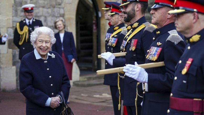 Queen Elisabeth ll. in Windsor, Oktober 2021