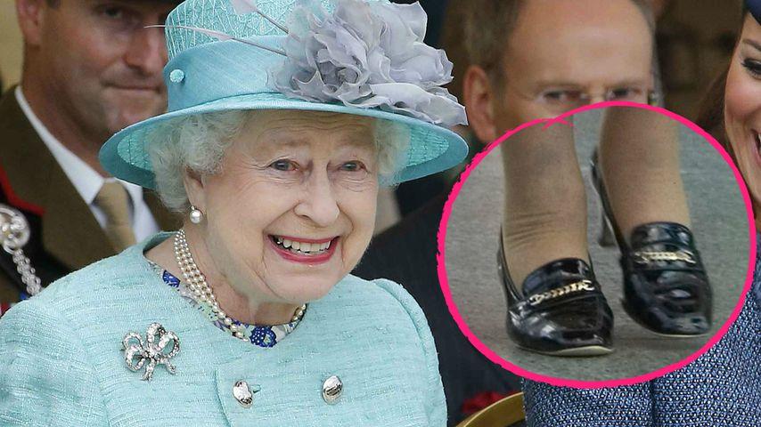 Echt Jetzt Queen Tragt Seit 50 Jahren Die Gleichen Schuhe