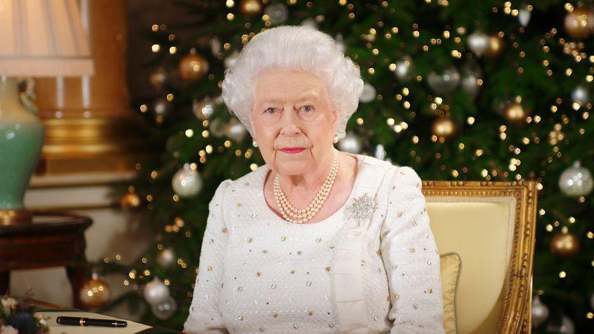 Queen Elizabeth II. an Weihnachten 2017