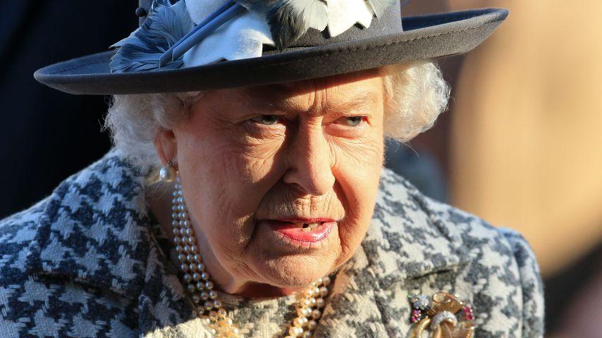 Queen Elizabeth II. besucht eine Kirche in Norfolk im Januar 2020