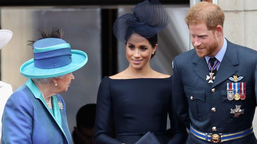 Mit der Queen: Hier werden Meghan & Harry Urlaub machen!
