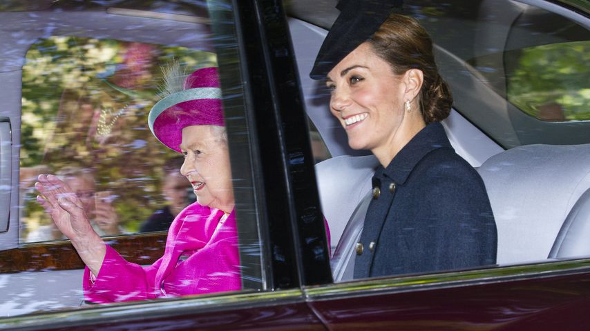 Queen Elizabeth II. und Herzogin Kate, Ende August 2019