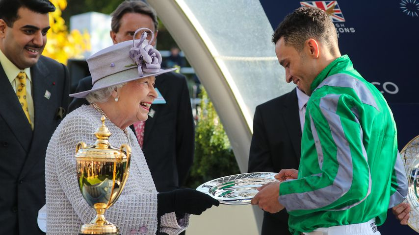 Queen Elizabeth II. mit Shaun Levy