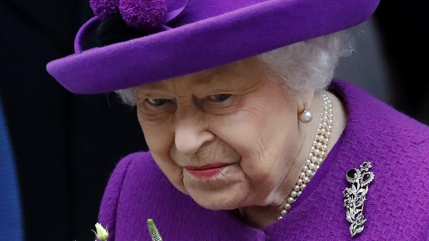 Queen Elizabeth II. im Februar 2020 in London