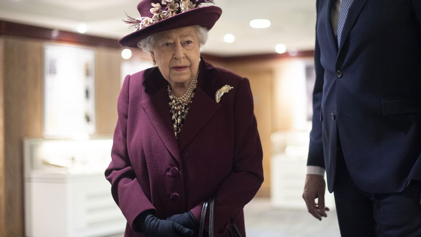 Corona-Quarantäne im Palast: Erstes Statement der Queen