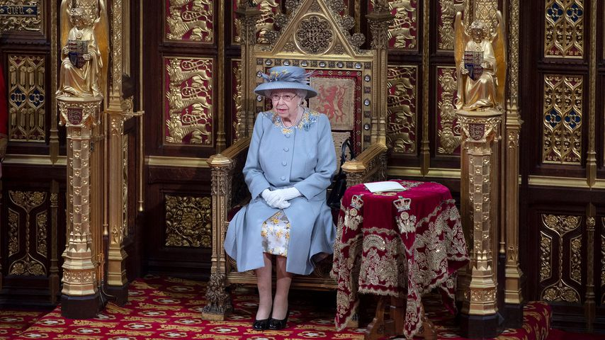 """Queen Elizabeth II. hält die """"Queen's Speech"""" in London, 2021"""