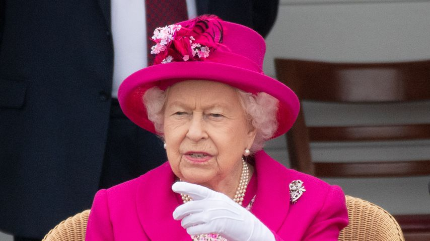 Queen Elizabeth II. beim Royal Windsor Cup Polospiel 2019
