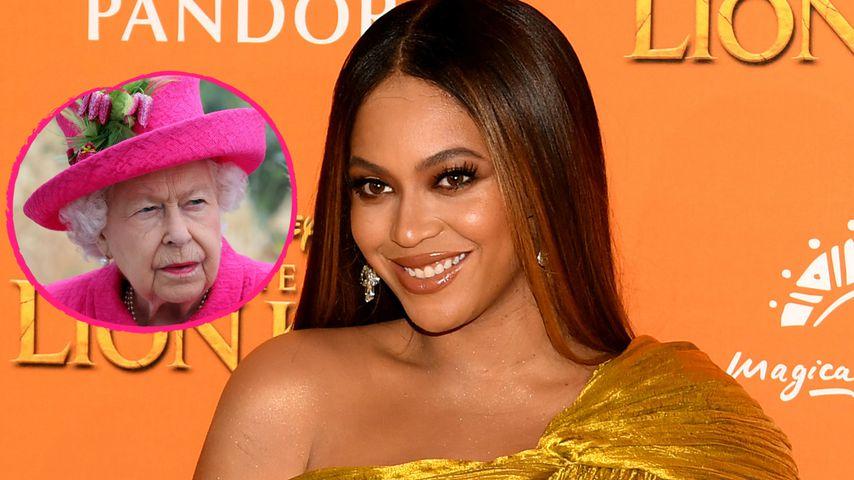 Ausgetauscht: Hier verdrängt Beyoncé die britische Königin