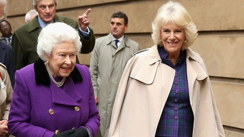 Süß! Die Queen gratuliert Camilla im Netz zum 74. Geburtstag