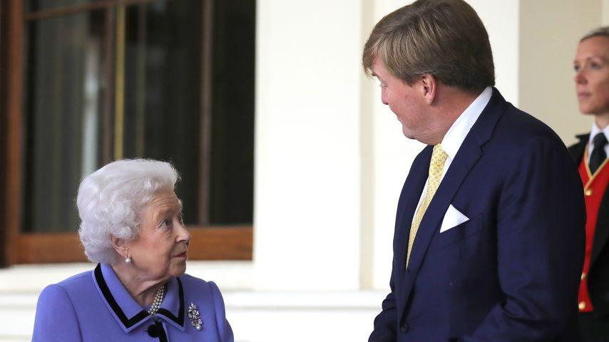 Sexy Vergleich: Willem-Alexander hält Queen für Bond-Girl