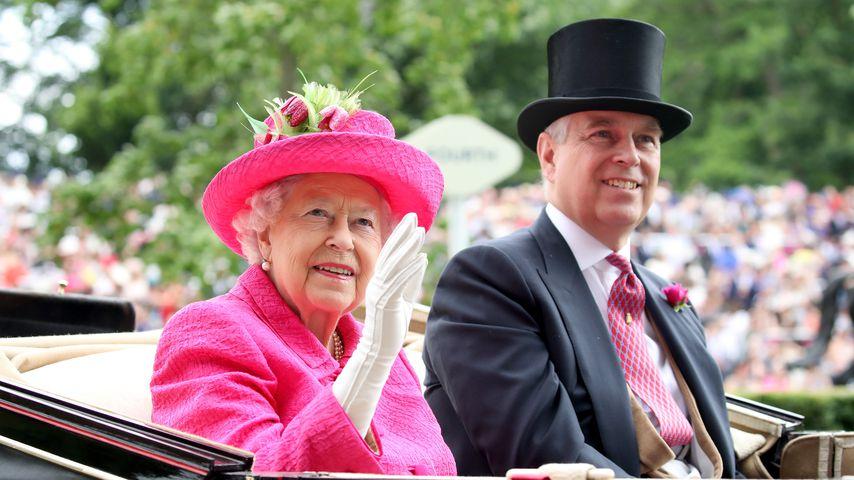 Versteckt Prinz Andrew sich etwa auf dem Anwesen der Queen?
