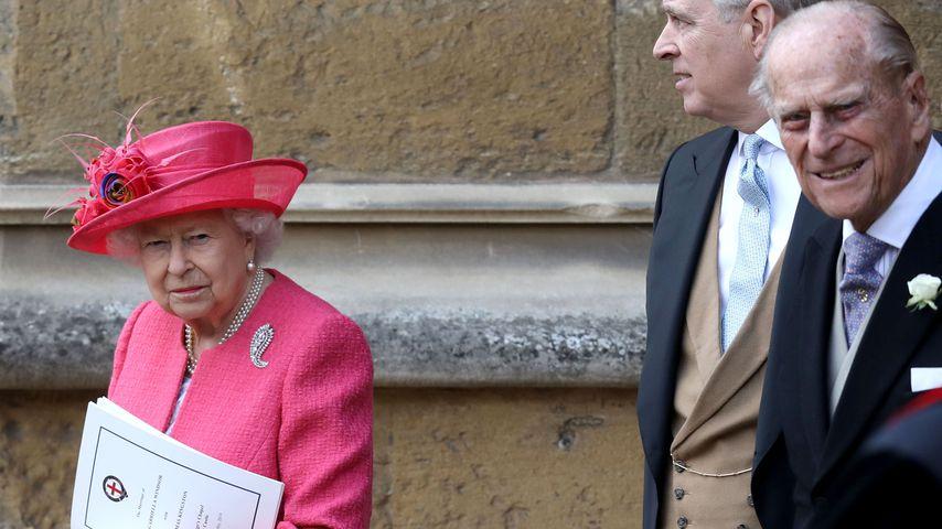 Queen Elizabeth II. und Prinz Philip im Mai 2019