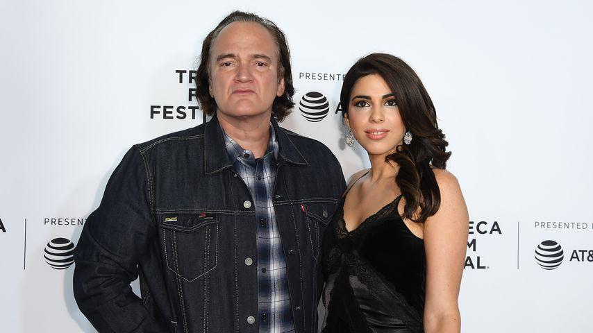 Quentin Tarantino und Daniela Pick in New York City