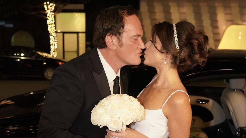 Quentin Tarantino und Daniella Pick nach ihrer Hochzeit