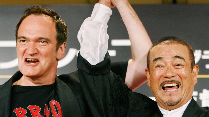 Quentin Tarantino und Sonny Chiba im September 2007