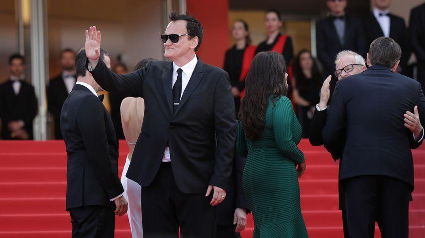 Quentin Tarantino auf den Filmfestspielen in Cannes