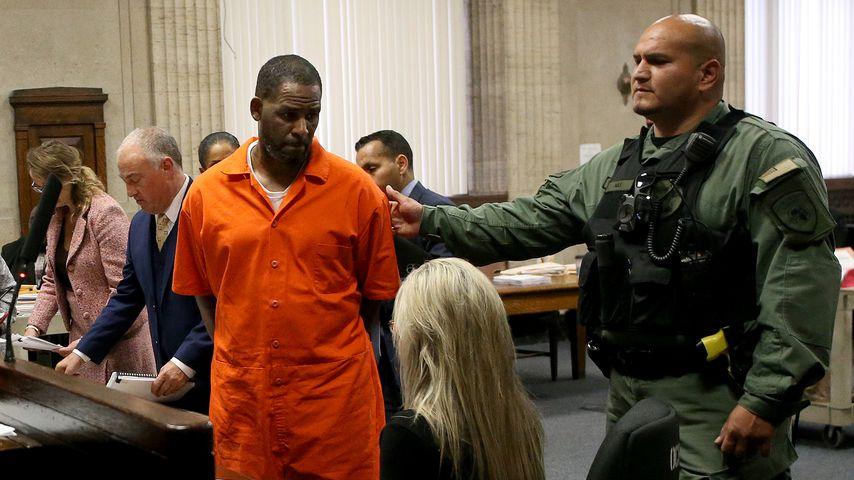 R. Kelly im September 2019 in Chicago vor Gericht