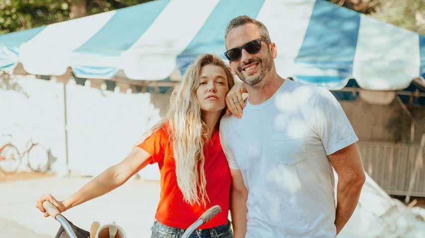 Rachel Platten und ihr Mann Kevin Lazan