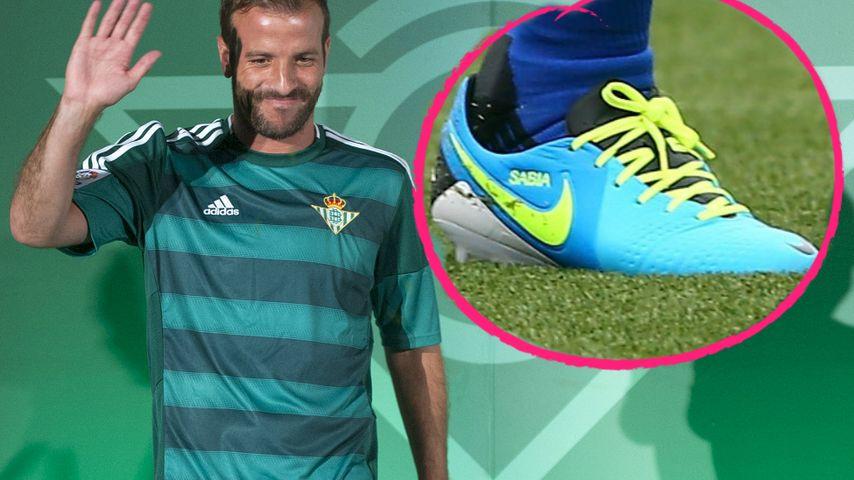 Sabia-Schriftzug weg: Verrät Rafaels Schuh das Liebes-Aus?