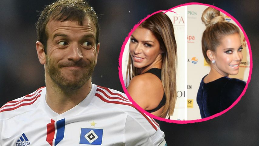 Was machte Rafael van der Vaart am Valentinstag in Hamburg?