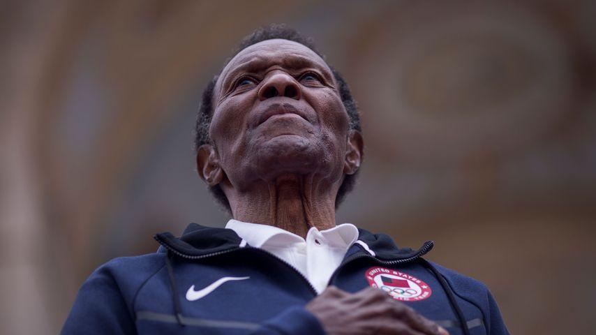 Rafer Johnson, ehemaliger US-amerikanischer Sportler