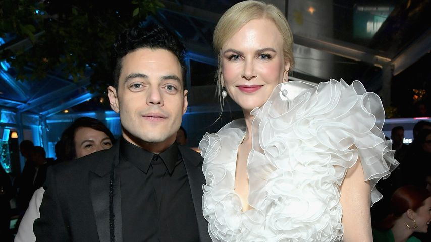 Nach Globes: Rami Malek & Nicole Kidman innig auf Red Carpet