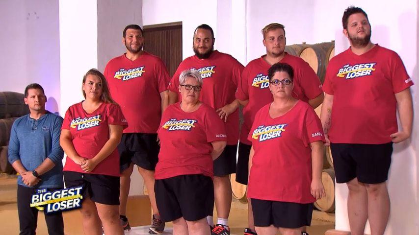"""Ramin Abtin und sein Team bei """"The Biggest Loser"""""""