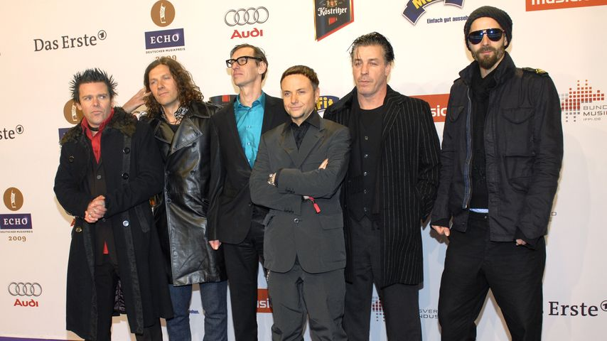 Rammstein beim Echo 2009
