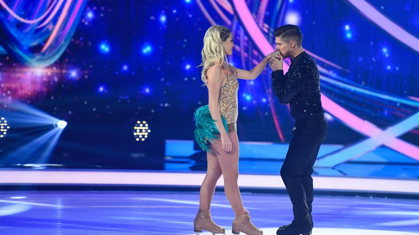 "Ramona und Joey bei ""Dancing on Ice"""